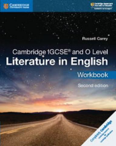 Cambridge International IGCSE: Cambridge IGCSE (R) and O Level Literature in English Workbook - Russell Carey