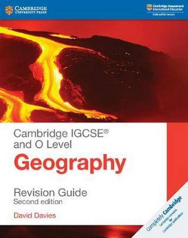 Cambridge International IGCSE: Cambridge IGCSE (R) and O Level Geography Revision Guide - David Davies