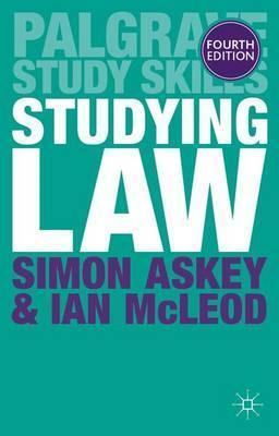 Studying Law - Simon Askey