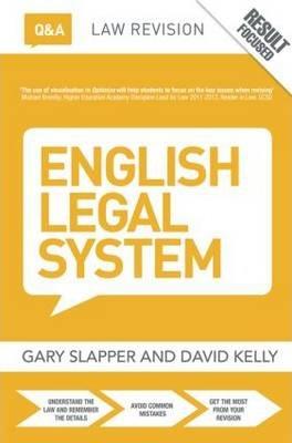 Q&A English Legal System - Gary Slapper