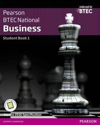 BTEC Nationals Business Student Book 1 + Activebook: For the 2016 specifications - Jenny Phillips