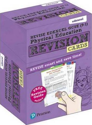 Revise Edexcel GCSE (9-1) Physical Education Revision Cards: with free online Revision Guide -