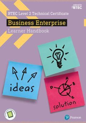 BTEC Level 2 Certificate in Business Enterprise Learner Handbook with ActiveBook - Sue Donaldson