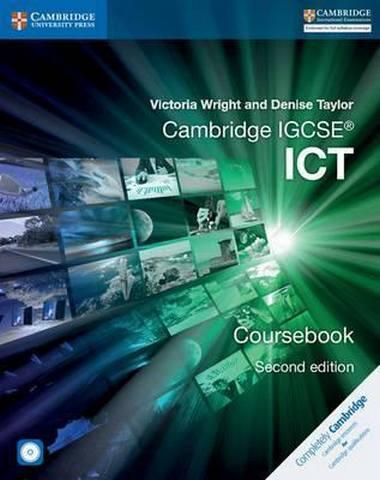 Cambridge International IGCSE: Cambridge IGCSE (R) ICT Coursebook with CD-ROM - Victoria Wright