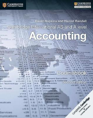 Cambridge International AS and A Level Accounting Coursebook - David Hopkins