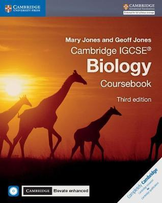 Cambridge International IGCSE: Cambridge IGCSE (R) Biology Coursebook with CD-ROM and Cambridge Elevate Enhanced Edition (2 Years) - Mary Jones