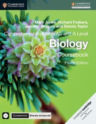 Cambridge International AS and A Level Biology Coursebook with CD-ROM and Cambridge Elevate Enhanced Edition (2 Years) - Mary Jones