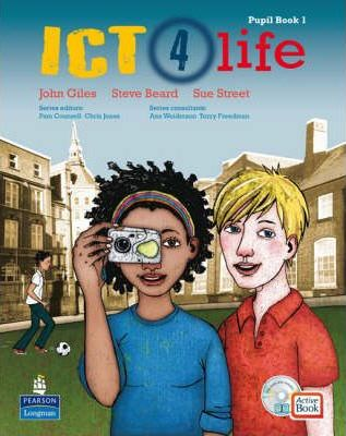 ICT 4 Life Year 7 Students' ActiveBook Pack with CDROM - John Giles