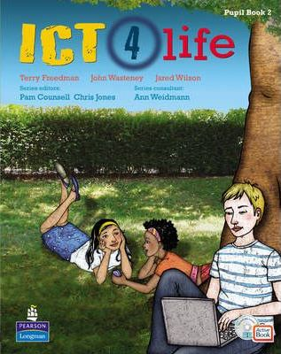 ICT 4 Life Year 8 Students' ActiveBook Pack with CDROM - Ann Weidmann
