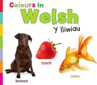 Colours in Welsh: Y lliwiau - Daniel Nunn