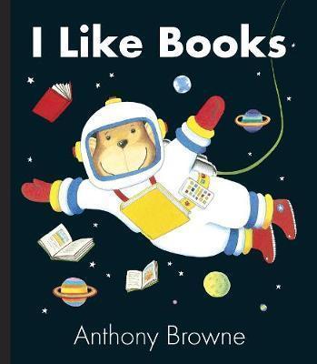 I Like Books - Anthony Browne