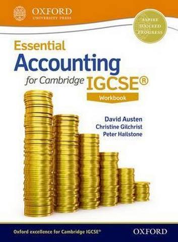 Essential Accounting for Cambridge IGCSE (R) Workbook -