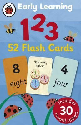 Ladybird Early Learning: 123 flash cards - Ladybird
