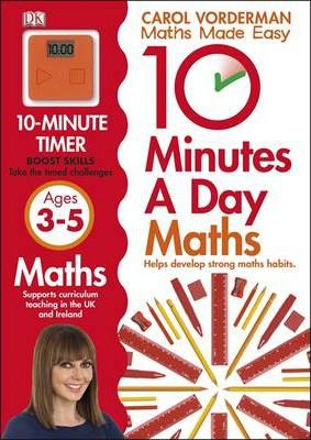 10 Minutes a Day Maths Ages 3-5 Key Stage 0 - Carol Vorderman