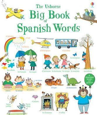 Big Book of Spanish Words - Mairi Mckinnon