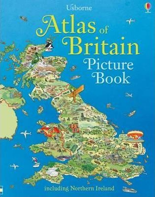 Atlas of Britain Picture Book - Fiona Patchett