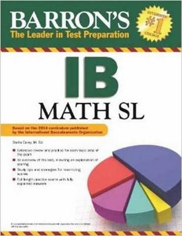 Barron's IB Math SL - Stella Carey