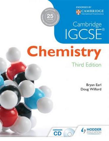 Cambridge IGCSE Chemistry 3rd Edition plus CD - Bryan Earl