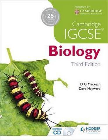 Cambridge IGCSE Biology 3rd Edition - D. G. Mackean