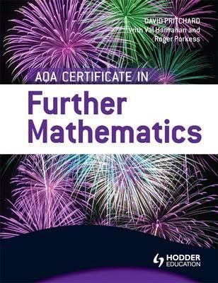 AQA Certificate in Further Mathematics - Val Hanrahan