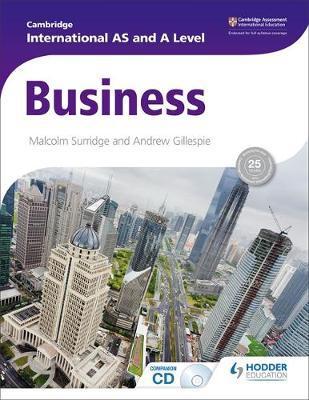 Cambridge International AS and A Level Business - Malcolm Surridge