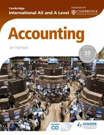 Cambridge International AS and A Level Accounting - Ian Harrison