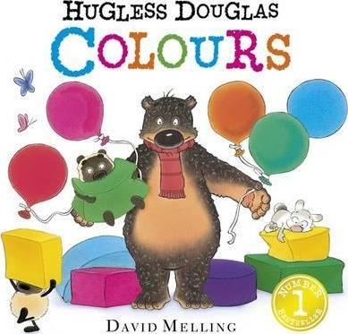 Hugless Douglas Colours Board Book - David Melling