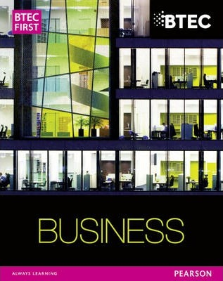 BTEC First Business Student Book - Carol Carysforth