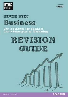 BTEC First in Business Revision Guide -