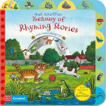 Axel Scheffler Treasury of Rhyming Stories Book and CD - Axel Scheffler