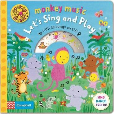 Monkey Music Let's Sing and Play - Angie Coates