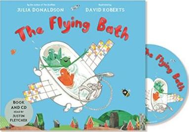 The Flying Bath: Book and CD Pack - Julia Donaldson