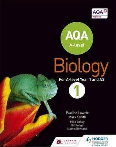 AQA A Level Biology Student Book 1 - Pauline Lowrie