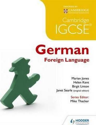 Cambridge IGCSE (R) German Foreign Language - Marian Jones