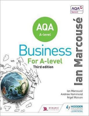 AQA Business for A Level (Marcouse) - Ian Marcouse