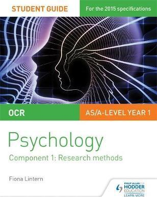 OCR Psychology Student Guide 1: Component 1: Research methods - Fiona Lintern