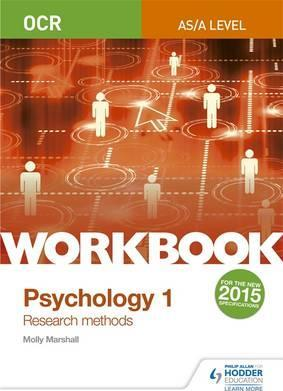 OCR Psychology for A Level Workbook 1: Component 1: Research Methods - Molly Marshall
