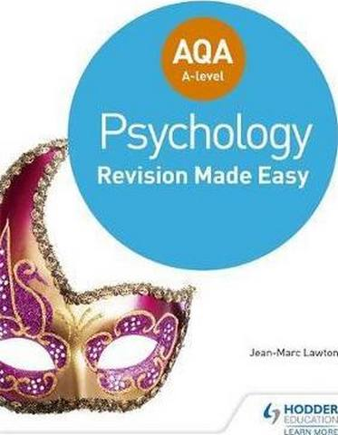 AQA A-level Psychology: Revision Made Easy - Jean-Marc Lawton