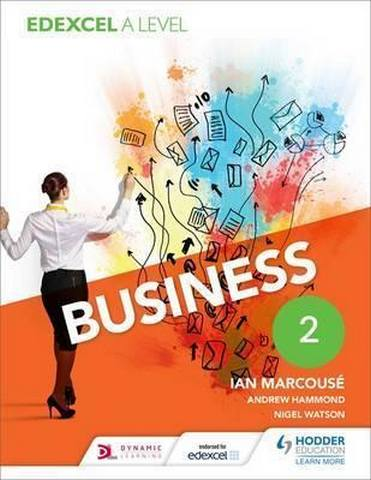 Edexcel Business A Level Year 2 - Ian Marcouse