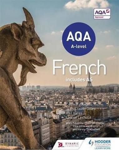 AQA A-level French (includes AS) - Severine Chevrier-Clarke