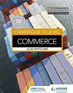 Cambridge O Level Commerce - Alan Whitcomb