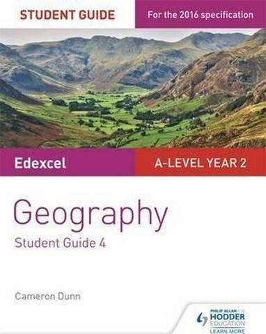 Edexcel AS/A-level Geography Student Guide 4: Geographical skills; Fieldwork; Synoptic skills - Cameron Dunn