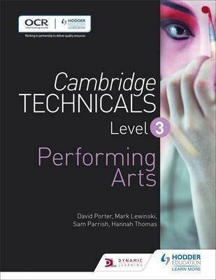 Cambridge Technicals Level 3 Performing Arts - Mark Lewinski