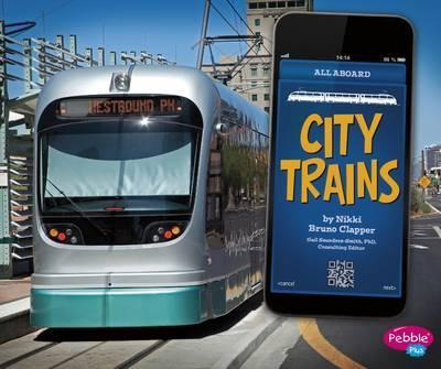 City Trains - Gail Saunders-Smith