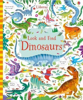 Look and Find Dinosaurs - Kirsteen Robson