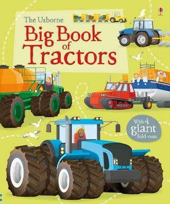 Big Book of Tractors - Lisa Jane Gillespie