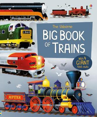 Big Book of Trains - Megan Cullis