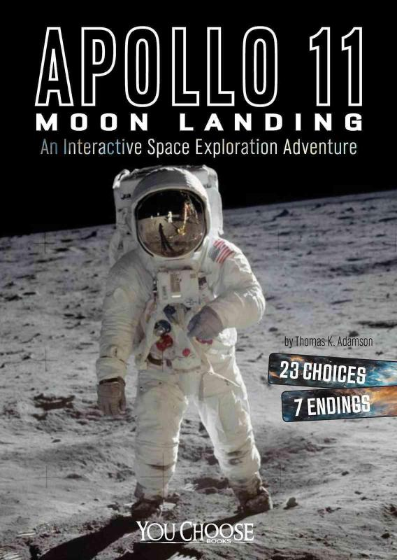 Apollo 11 Moon Landing: An Interactive Space Exploration Adventure -