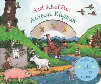 Mother Goose's Animal Rhymes: Book and CD Pack - Axel Scheffler