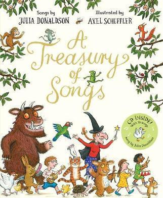 A Treasury of Songs: Book and CD Pack - Julia Donaldson